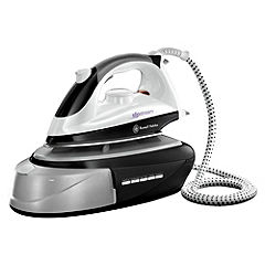 Russell Hobbs 14863 1800W Steam Generator Iron Black and White