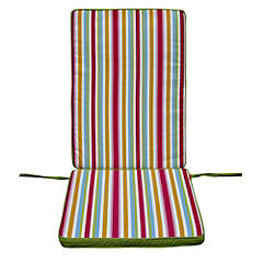 Sainsbury's Highback Reversible Cushion Global Stripe