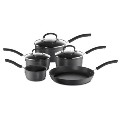 Tefal Expert Cook Hard Anodised 5-piece Pan Set - image 1