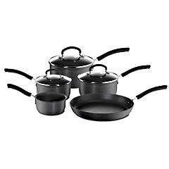 Tefal Expert Cook Hard Anodised 5-piece Pan Set