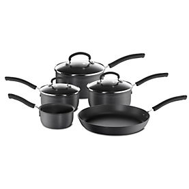 Tefal Expert Cook Hard Anodised 5-piece Pan Set