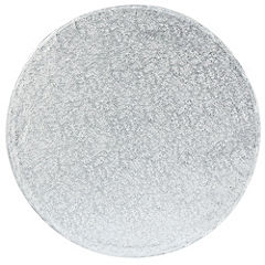 "Tala 10"" Round Silver Cake Drum 12mm Thickness"