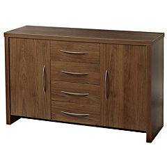 Toscana Walnut-effect Sideboard