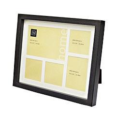 Tu Faux Leather 5-apperture Box Frame