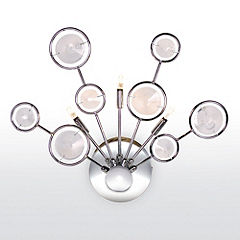 Hudson Wall Light Chrome