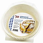 Tala Set of 50 20cm Diameter Siliconised Greaseproof Cake Tin Liners