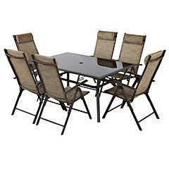 Monaco 9-piece Garden Furniture Set