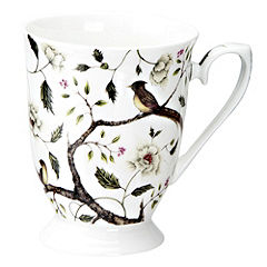 Tu Antique Rose Bone China Mug