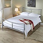 Lucy Metal Double Bedstead