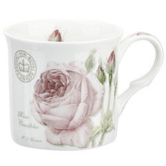 Kew Gardens Rose Centifolia Bone China Mug