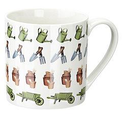 Tu Barrow & Pots Gardening China Mug