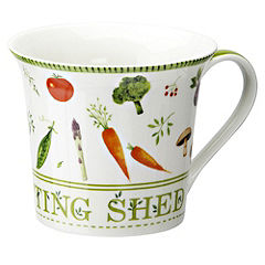 Tu Potting Shed Vegetable China Mug