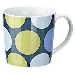 Tu Blue Spots Porcelain Mug