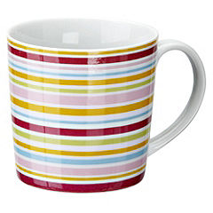 Tu Bright Stripes Porcelain Mug