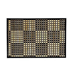 Tu Black Bamboo and Cotton Placemat