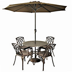 Bellagio Pavia KD Round 4-seater Garden Set