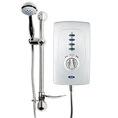 Creda Slimline Chrome 10.5kW Instantaneous Electric Shower