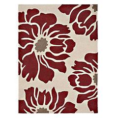 Tu Red Floral Rug 120x170cm