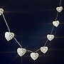 Tu Cream Heart String Light