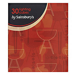 Sainsbury's Barbeque Lighting Cubes 30-pack