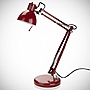 Tu Red Angled Desk Lamp