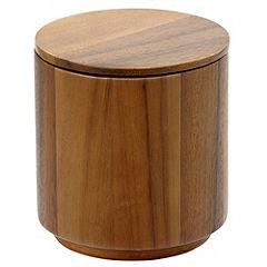 Sainsbury's Acacia Wood Canister