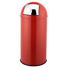 Sainsbury's Red Push Top Bin 30L
