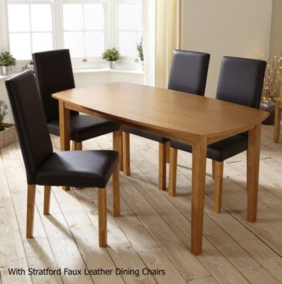 Stratford Contemporary Fixed Top Dining Table - image 2