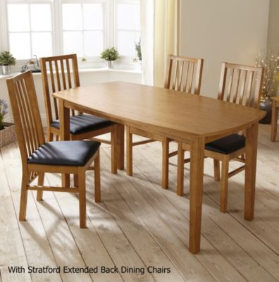 Stratford Contemporary Fixed Top Dining Table - image 3