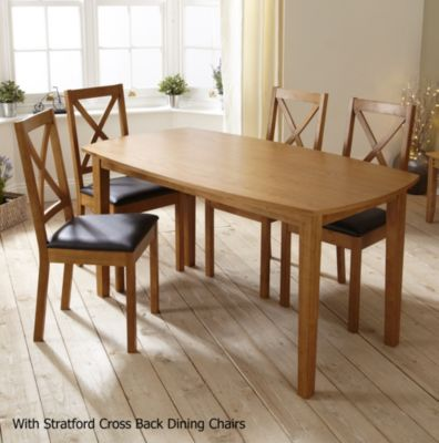 Stratford Contemporary Fixed Top Dining Table - image 4