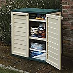 Rowlinson Plastic Utility Cabinet with 2 Shelves