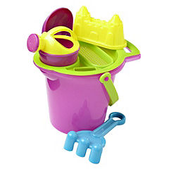 Sainsbury's Deluxe Sand Bucket Set