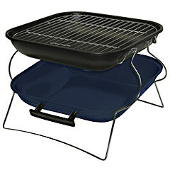 Sainsbury's Portable Barbeque Blue