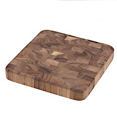 Sainsbury's Large Dark Wood Chopping Board