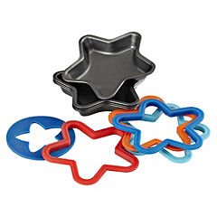 Sainsbury's Kids Bakeware And Cutters Set of 4