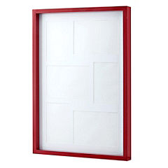 Tu Red Box Frame with 6 Apertures