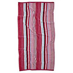 Tu Pink Stripe Jacquard Beach Towel