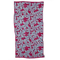 Tu Tropical Floral Jacquard Beach Towel