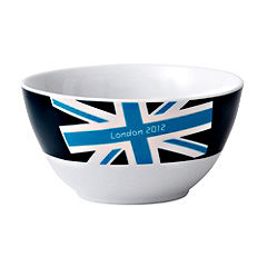 London 2012 Union Jack Brights Bowl Blue