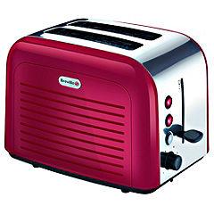 Breville VTT264 Stainless Steel Red 2-slice Toaster
