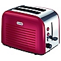 Breville VTT264 Stainless Steel Red 2-slice Toaster