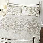 Tu Natural Printed Leaf Bed Linen Set