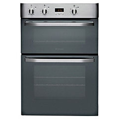 Hotpoint DHS53X Integrated Electric Multifunction Double Oven Stainless Steel