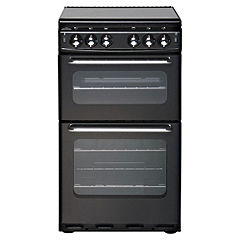New World 500TSIDLBK 50cm Black Gas Cooker