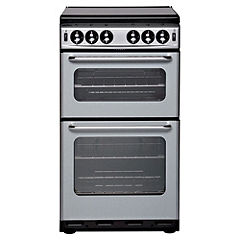 New World 500TSIDLSI 50cm Silver Gas Cooker