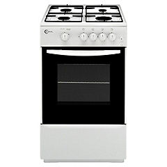 Flavel FSG51WP 50cm White Gas Cooker