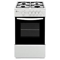 Flavel FSG51WP 50cm White Gas Cooker