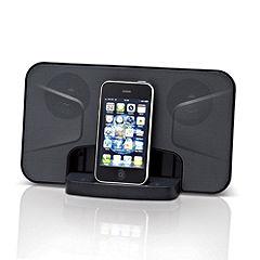 Audio Equipment Red iPhone Docking Speaker