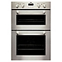 Zanussi ZOD370X Stainless Steel Integrated Electric Multifunction Double Oven
