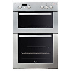 Whirlpool AKZ162IX Stainless Steel Integrated Electric Double Fan Oven